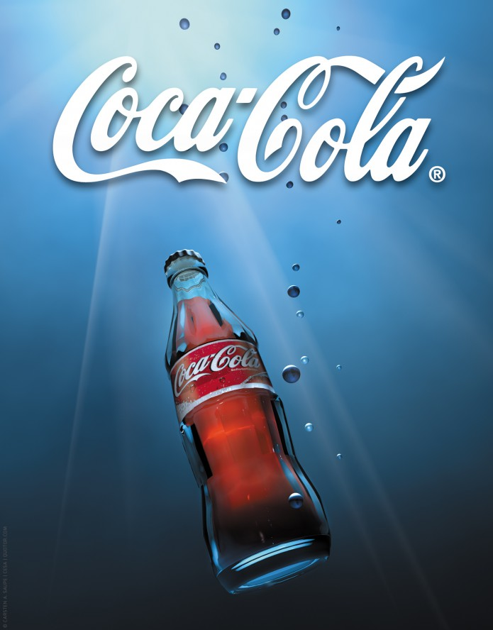 Keyvisual Gestaltung Coca-Cola Plakat-05-©-Carsten-A-Saupe-CeSa-Quotor-Design