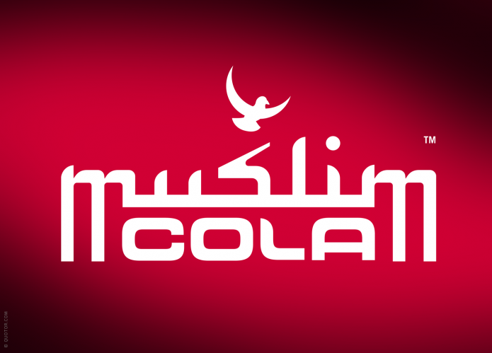 Halal Drink Markenauftritt Muslim-Cola-Drink-Logo-©-Quotor-Design